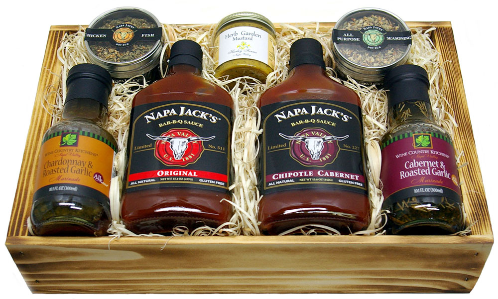 Quot Napa Valley Sampler Gift Box Christie S Basket Express Quot