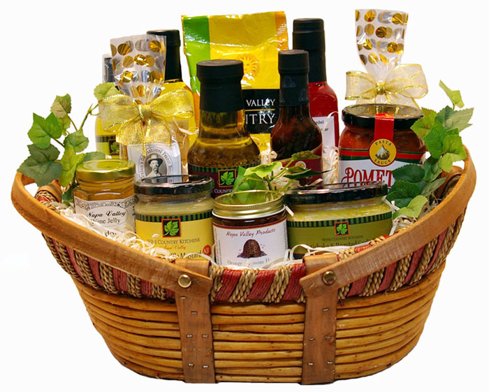 Napa Valley Gourmet Gift Baskets - Gourmet Products from Napa